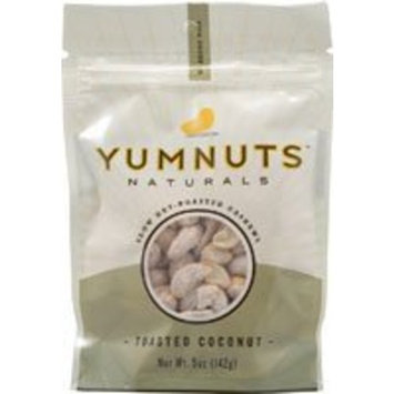 Yumnuts Naturals Cashews Toasted Coconut -- 5 oz