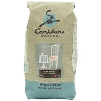 Caribou Coffee French Roast Whole Bean, 12-Ounce Bags (Pack of 2)
