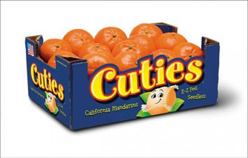 Slide: CUTIES®  Californian Mandarins