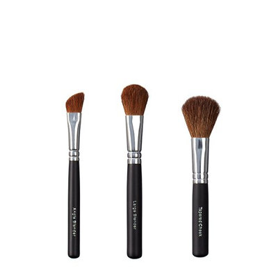 ON&OFF Trio Angle Blender and Tapered Cheek Brush