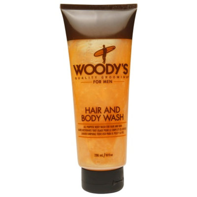 Woody's Hair and Body Wash for Men, 10 fl oz