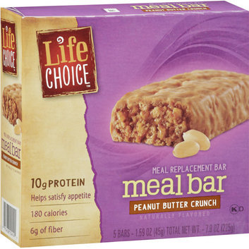 Life Choice Peanut Butter Crunch Meal Replacement