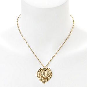 Elizabeth Cole Jewelry Love Necklace