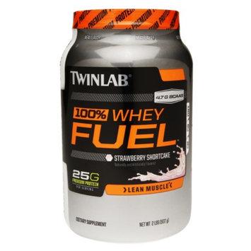 Twinlab 100% Whey Fuel Protein Strawberry Shortcake