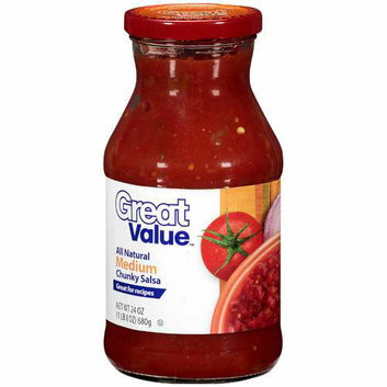 Great Value : Medium Chunky Salsa