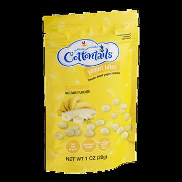 Cottontails Yogurt Bites Banana