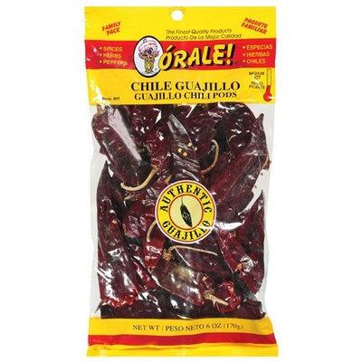 Orale Medium Hot Guajillo Family Pack Chili Pods, 6 oz