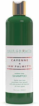 Hair Growth Botanical Renovation Sulfate-Free Scalp Stimulating Shampoo 10.2 0z / 300 Ml Cayenne and Saw Palmetto
