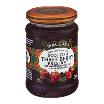 Mackays Scottish Three Berry Preserve