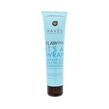 Paves Professional Flawless It's A Wrap Reparing Defining Finsh Cream for Dry Damaged Hair 5 oz