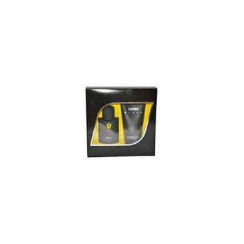 Ferrari M-GS-2348  Black by  for Men - 2 Pc Gift Set 2. 5oz EDT Spray