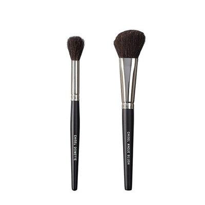 VEGAN LOVE The Chisel Collection Make Up Brush Set (Chisel Domette Chisel Angle Blush)