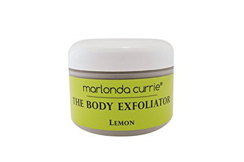 marlonda currie The Body Exfoliator - Lemon (Handmade Natural and Organic Brown Sugar Scrub that Triple Exfoliates and Hydrates the Skin; Absolutely NO LOTION REQUIRED)