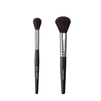 VEGAN LOVE The Chisel Collection Make Up Brush Set (Chisel Domette Chisel Blush)