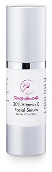 20% Vitamin C Anti-Aging Facial Serum With Hyaluronic Acid - 1 oz