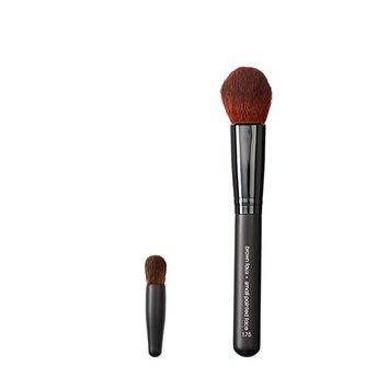 Makeover Vegan Love Mini Eye Buki and Pointed Face Brush