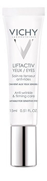Vichy LiftActiv Eyes Anti-Wrinkle and Firming Eye Cream with Caffeine. For Dark Circles and Under-Eye Bags