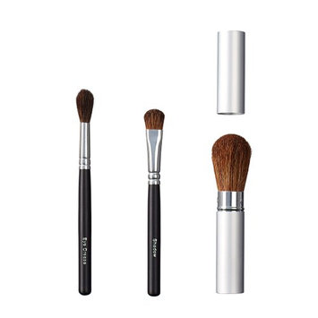 ON&OFF Trio Eye Crease/Shadow and Take Along Face Brush