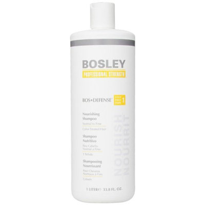 Bosley Defense Nourishing Shampoo for Normal to Fine / Color-Treated Hair 33.8oz