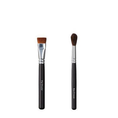 ON&OFF Flat Shader and Eye Crease Makeup Brush