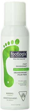 Footlogix Specialty Foot Deodorant Spray
