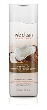 Live Clean Coconut Milk Moisturizing Body Wash