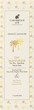 Caribbean Joe Organic Signature Day Moisturizer for Dry-Sensitive Skin