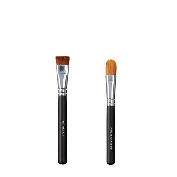 ON&OFF Flat Shader and Ultimate Concealer Makeup Brush
