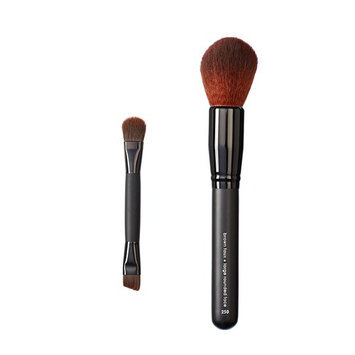 Makeover Vegan Love Duo Mini Eye and Rounded Face Brush
