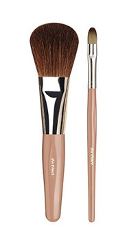 Da Vinci Series Travel Powder and Eyeshadow Brush Set
