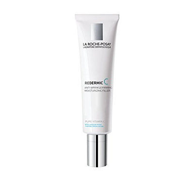 La Roche-Posay Redermic C Anti-Wrinkle Firming Facial Moisturizer for Normal to Combination Skin with Vitamin C