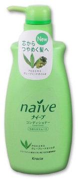 KRACIE Naive Conditioner Aloe Pump Smooth