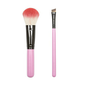 ON&OFF PINKLOVE BRUSH COLLECTION Powder and Angle Contour Brush
