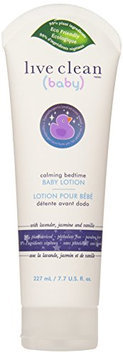 Live Clean Baby Calming Bedtime Baby Lotion