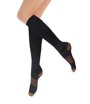HomeTek USA Lightweight Athletic Compression Socks