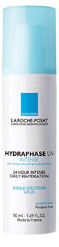 La Roche-Posay Hydraphase Intense UV 24-Hour Intense Rehydration Moisturizer with Hyaluronic Acid and SPF 20