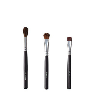 ON&OFF Trio Eye Crease/Shadow and Flat Liner Brush