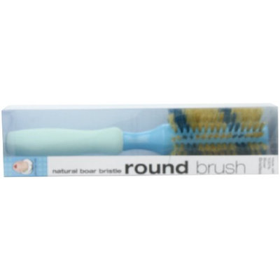 Bath Accessories Hair Brush Natural Boar 2.5 Inch Round Ribbon