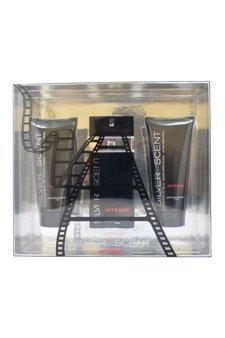 Jacques Bogart Silver Scent Intense 3 Piece Gift Set for Men
