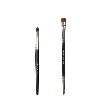 VEGAN LOVE The Chisel Collection Make Up Brush Set (Chisel Fluff Duo Detail Deluxe)