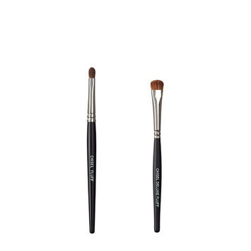 VEGAN LOVE The Chisel Collection Make Up Brush Set (Chisel Fluff Chisel Deluxe Fluff)