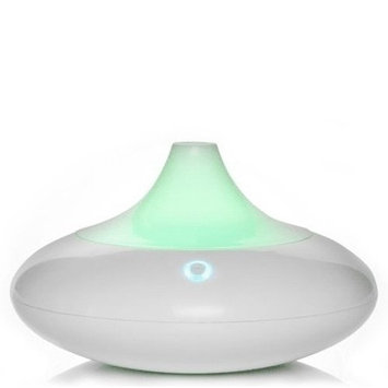 ZAQ Dew Essential Oil Diffuser LiteMist Ultrasonic Aromatherapy With Ionizer and Color-Changing Light - 80 ML Capacity