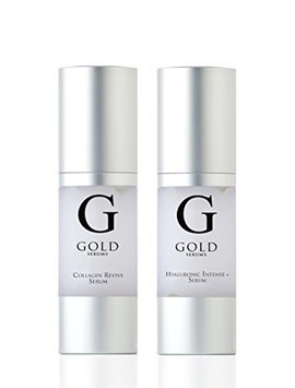 Gold Serums Hyaluronic and Collagen Kit