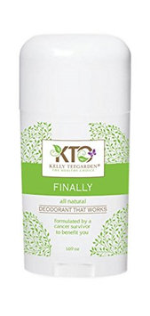Kelly Teegarden Organics Finally Deodorant