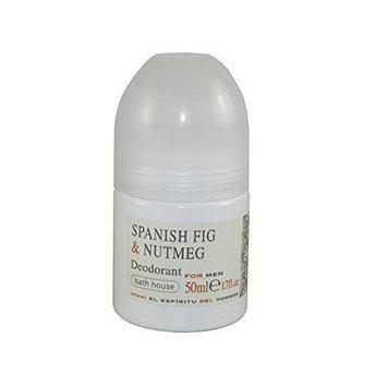 The Bath House Spanish Fig and Nutmeg Deodorant for Men