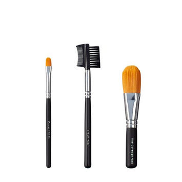 ON&OFF Trio Cover/Groom Tool and Total Coverage Face Brush