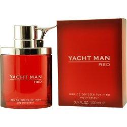 Yacht Man Red Eau de Toilette Spray For Men