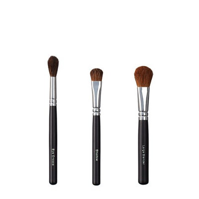 ON&OFF Trio Eye Crease/Shadow and Blender Brush