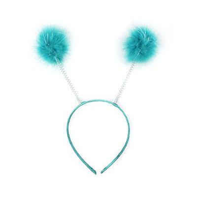 Zucker Feather Products Dark Aqua Antennae Headband