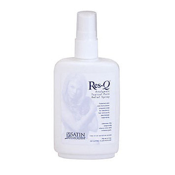 Satin Smooth Res-Q Analgesic Topical Pain Relief Spray